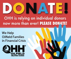 Ad - Click to donate to Oilfield Helping Hands! OHH is relying on individual donors now more than ever!