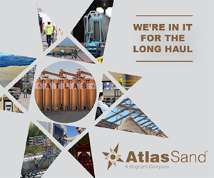 Ad - Atlas Sand: We're In It For The Long Haul