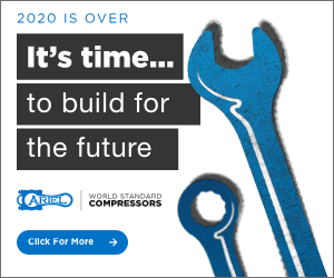 Ad - 2020 is over. It's time.. to build for the future. Ariel World Standard Compressors. Click for More.