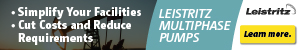 Ad - Click to learn more about Leistritz Multiphase Pumps.