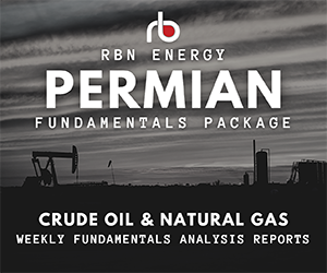 Ad - RBN Energy: Permian Fundamentals Package