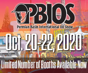 Ad - Permian Basin International Oil Show: Oct. 20-22, 2020