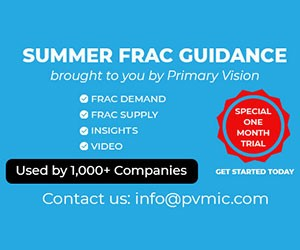 Ad - Primary Vision - Summer Frac Guidance brought to you by Primary Vision. Special One Month Trial. Contact us: info@pvmic.com